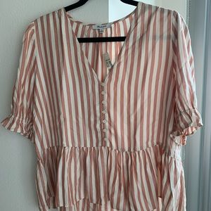 Madewell NWT Top size L